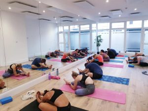 Our first Hot Yoga classes. Thank you fo...