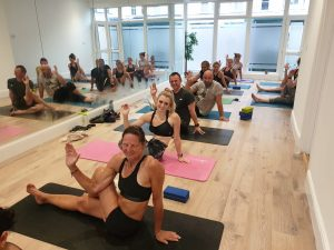 Well done our Hot yoga crew!  It was so ...
