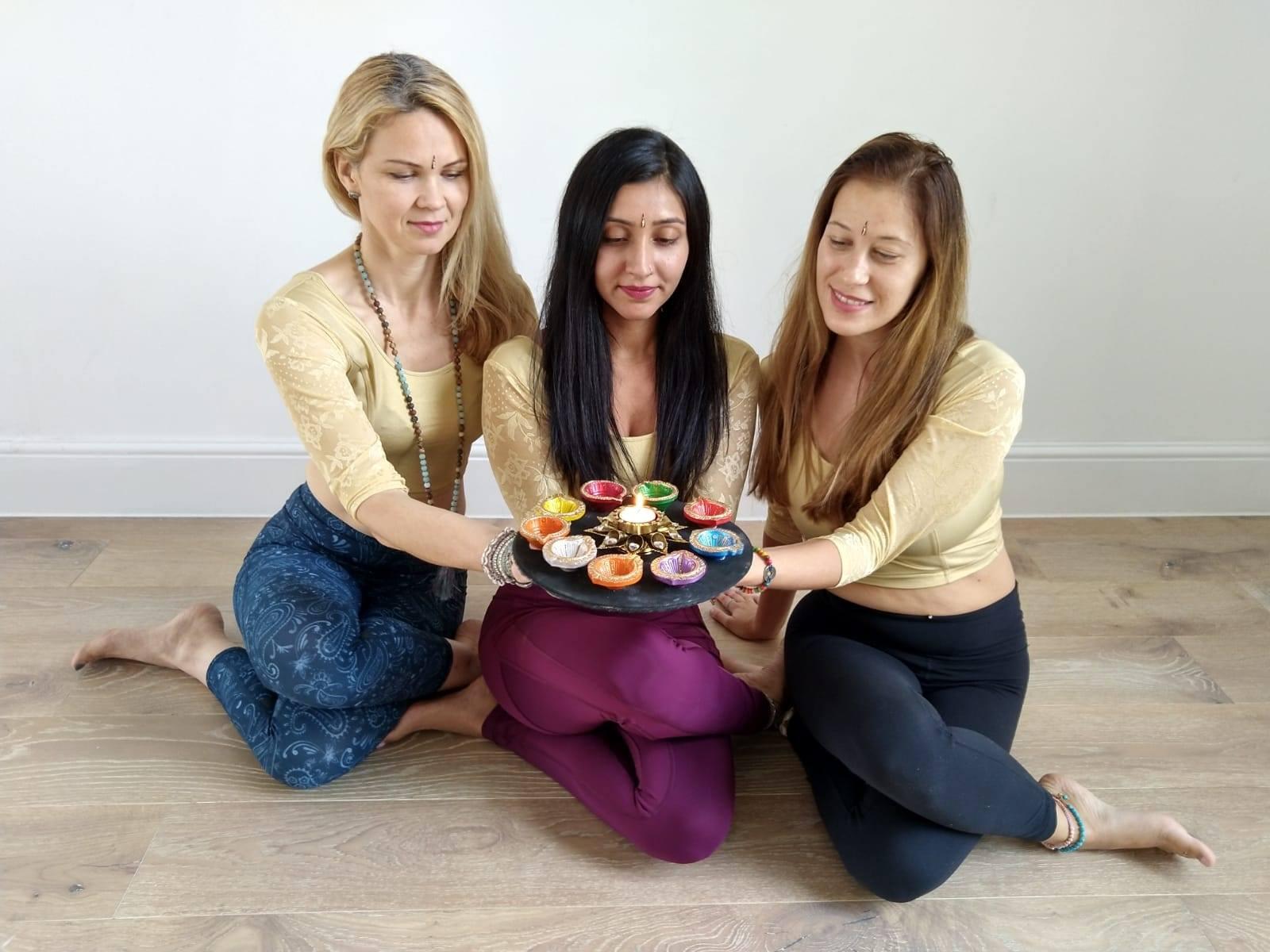 Join us for Diwali Candlelit Yoga and Me