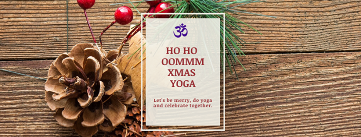 Event: OMMM Xmas YOGA at 2019-12-13 18:00:00