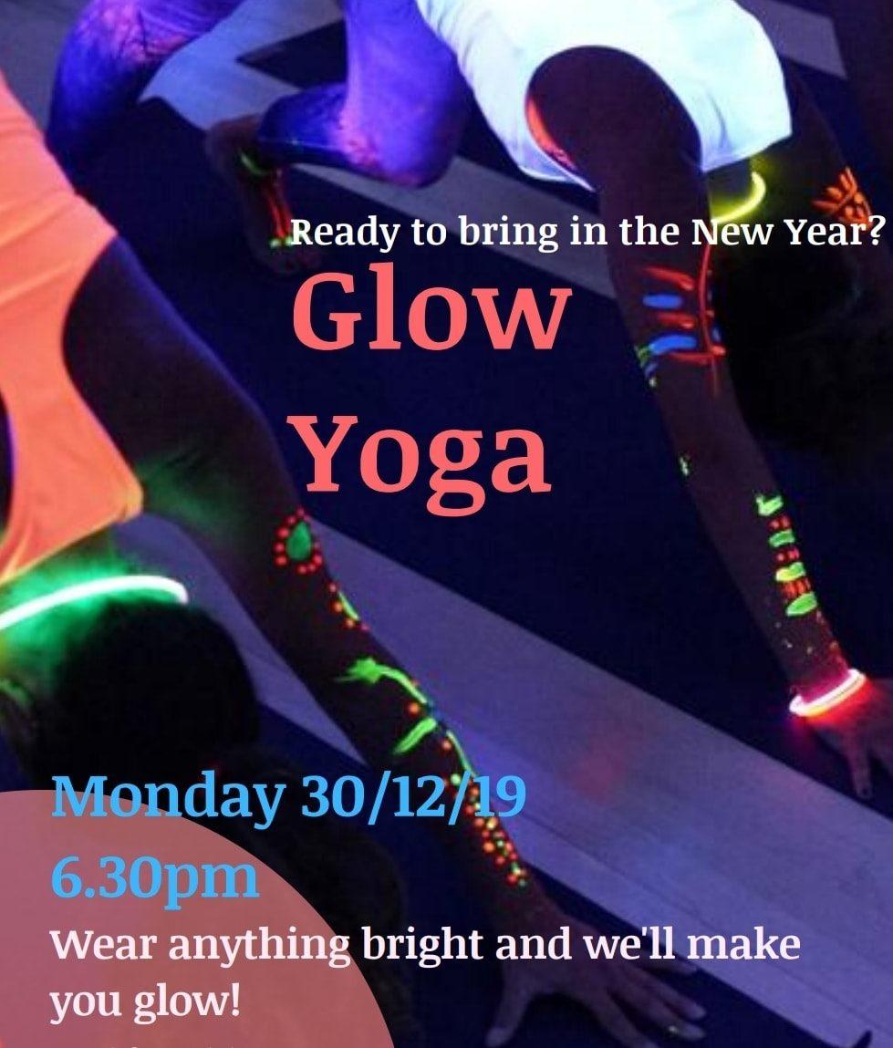 New Year Glow Disco Yoga