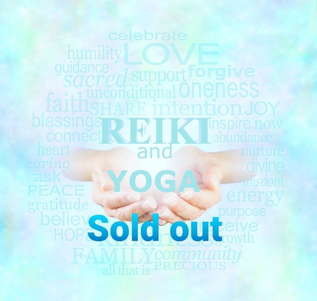 Our Restorative Yoga and Reiki event is