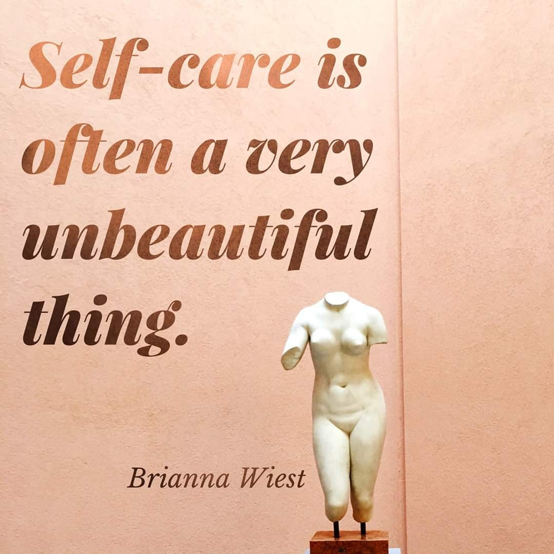 Beautiful article about Self care <3