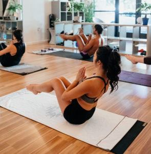 New class – Heated Pilates with Bobby