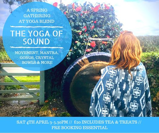 Event: The Yoga Of Sound (Sold Out) at 2020-04-04 14:00:00