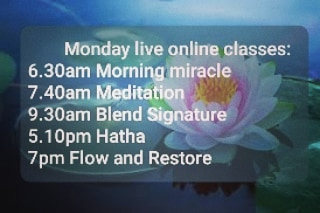 Join us tomorrow..  Book your class www.