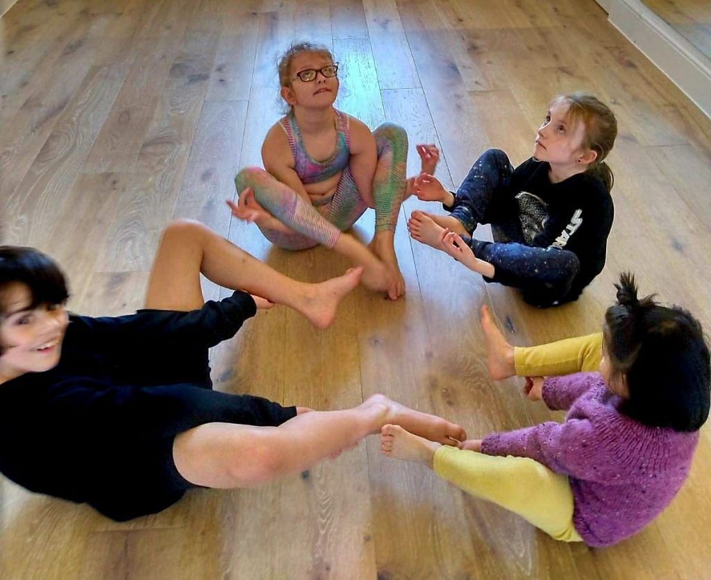 Kids yoga class on Tuesday 4.15pm We don
